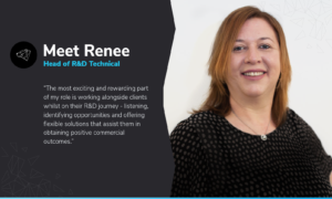Meet Renee, ABA's Head of R&D Technical